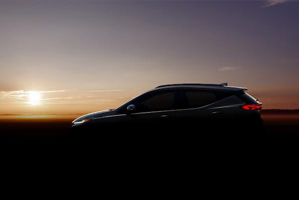 Chevrolet Bolt EUV com autonomia máxima de 443 km
