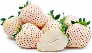 Les fraises blanche sont la nouvelle tendance au Japon !