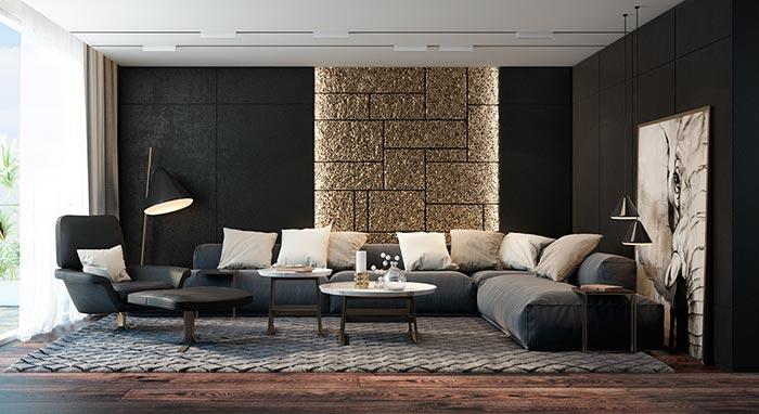 siyah tourma odası örnekleri