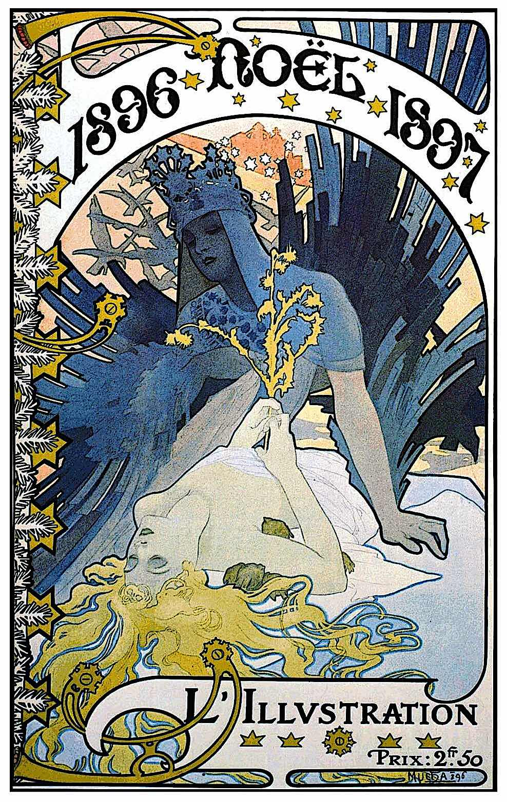 Alphonse Mucha 1896, L'Illustration