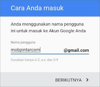 Cara Membuat Email Gmail di Android 9