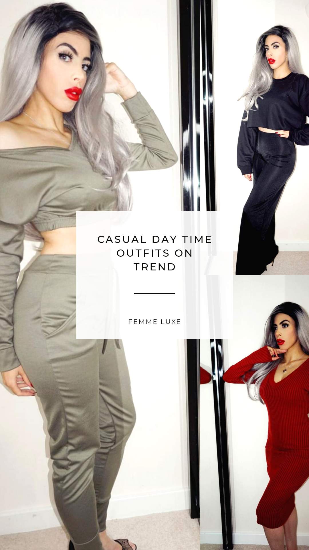 CASUAL DAY TIME OUTFITS ON TREND