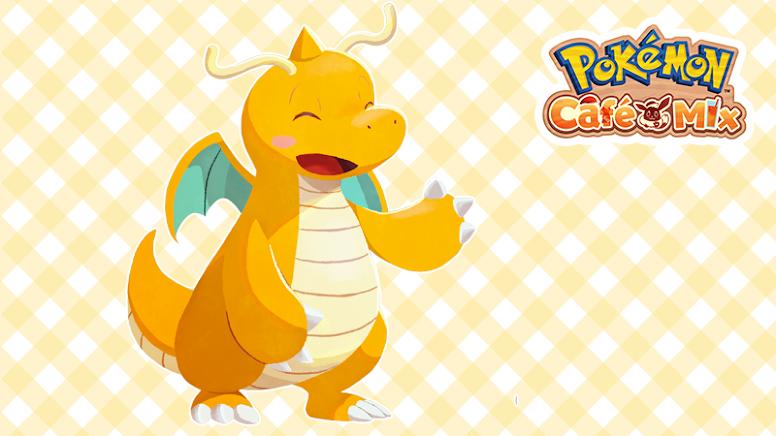 Pokémon Café Mix Dragonite