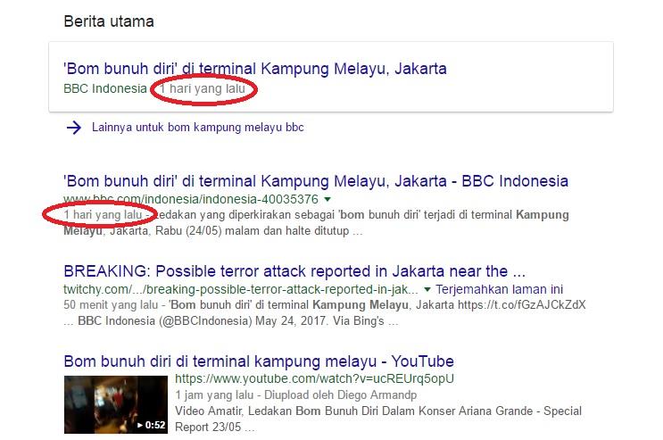 Berita Bom Kampung Melayu BBC Indonesia