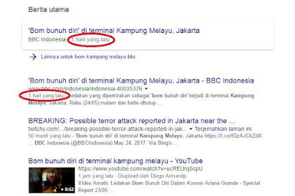 Nitizen Muak Dengan  Isu Bom Kampung Melayu, Masak BBC Sudah Memberitakan Sehari Sebelumnya?