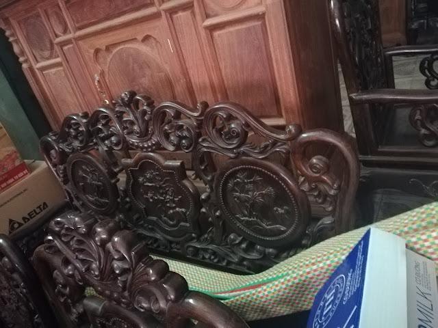 bàn ghế gỗ trắc cũ
