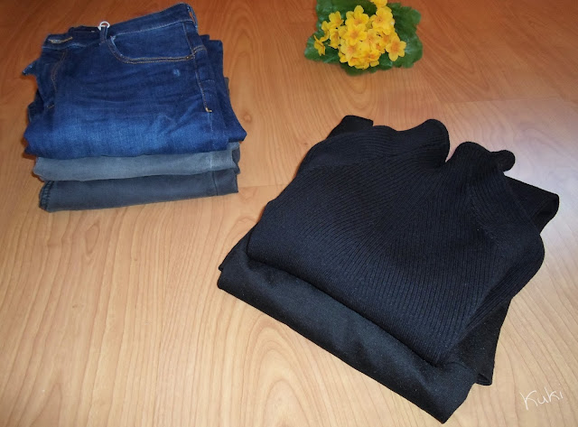 Compras na Bershka, calças de ganga, camisola, macacão