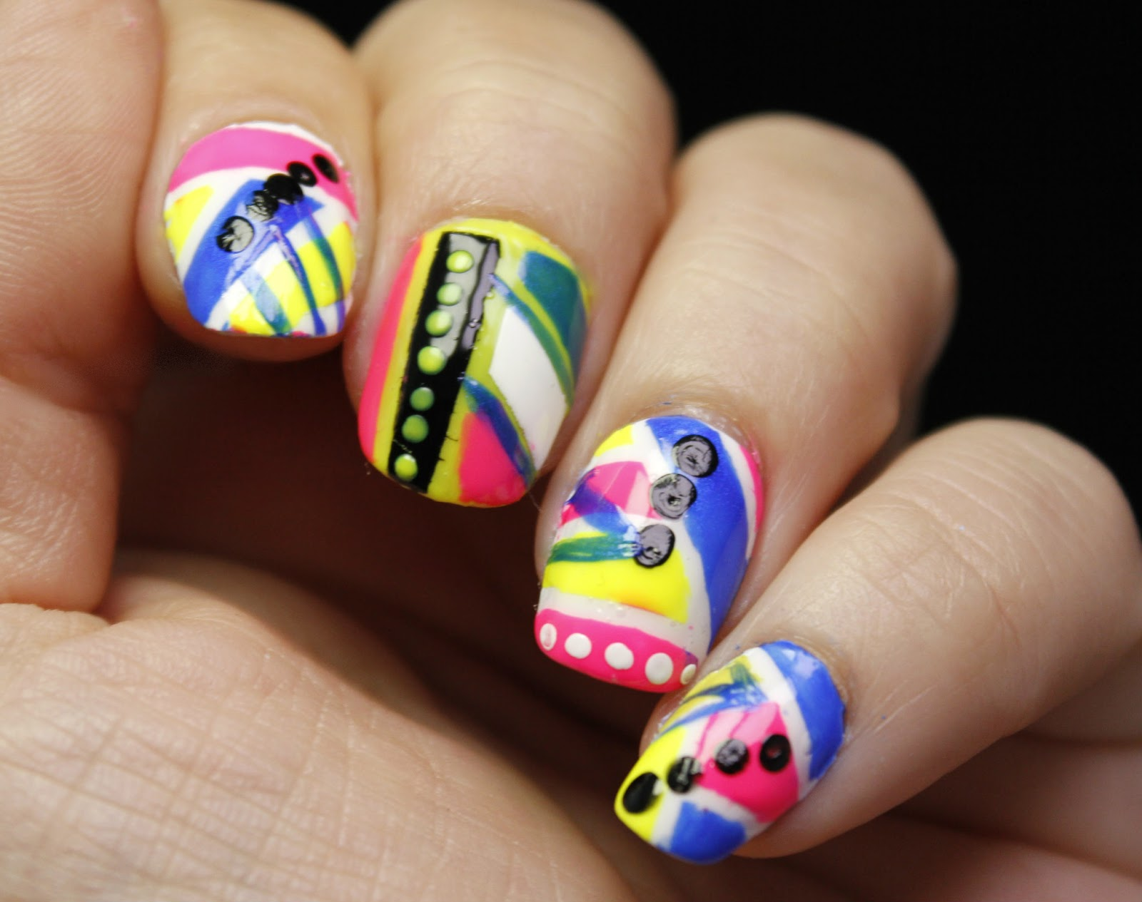 The Nail Challenge Collaborative Presents The 80s,Jewellery Designing App