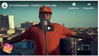 Tudo Vale: Young G deixa ficar algumas barras no #1TAKEfreestyle