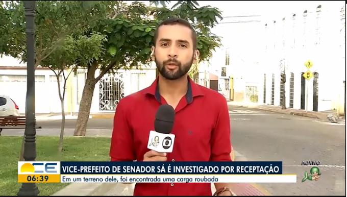 Prisão de vice prefeito de Senador Sá por receptação de carga ganha repercussão em todo o Estado