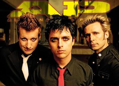 Foto de Green Day maquillados
