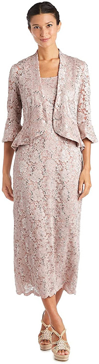 Elegant Pink Mother of The Groom Dresses