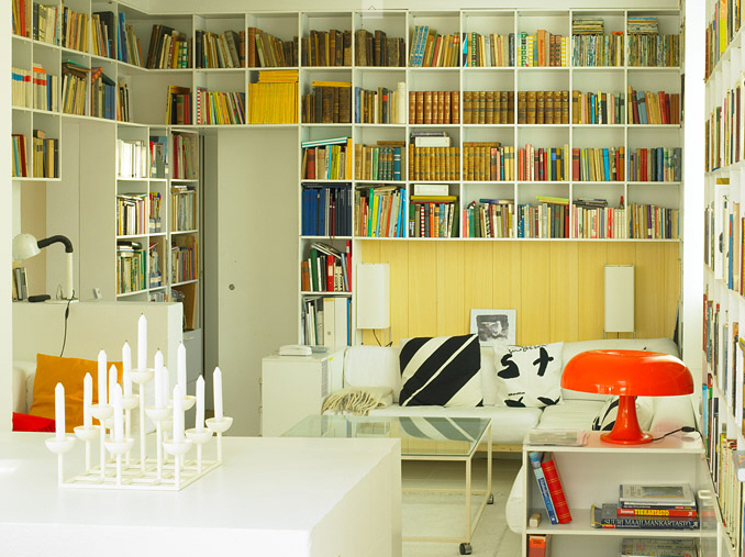 yellow-home-library