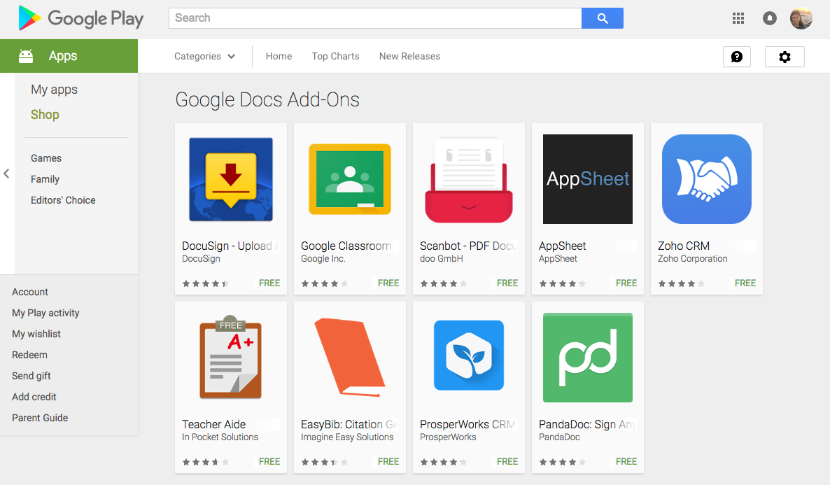 You Can Find These Add Onany More Including Pandadoc Zohocrm Teacher Aide Easybib And Clroom In Our Google Play Collection As Well Directly