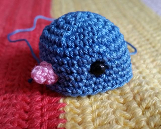 crochet bird tit finch