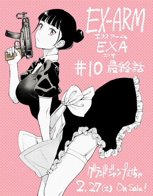 Sequel to EX-ARM Manga Ends in Only 10 Chapters