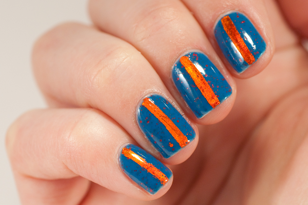 Cadillacquer Seek The Fire Nail Art May Contain Traces Of Polish