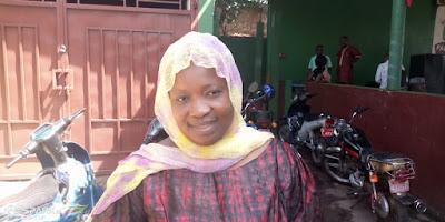 La porte-parole de la branche féminine du FNDC et membre de la coordination Nationale du PADES Madame Aïcha Barry