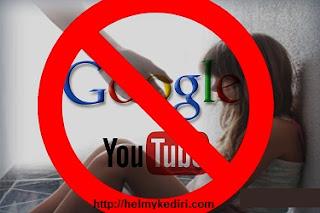 Cara memblokir video tidak pantas diyoutube