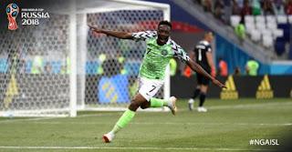 Nigeria vs Islandia 2-0 Video Gol Highlights