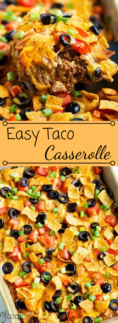 Taco Casserole #appetizers #snacks #creamcheese #wontons #lunch