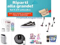 Logo Amazon ''Riparti alla grande'': una settimana ricca di offerte e sorprese
