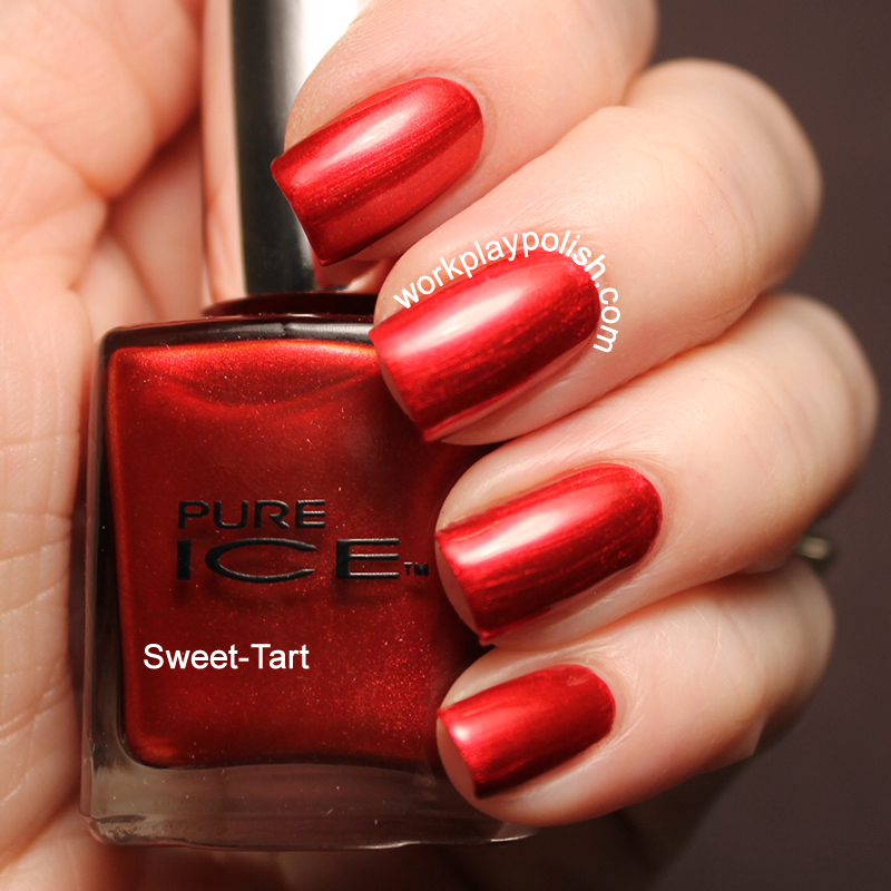 Pure Ice Sweet-Tart Swatch (work / play / polish)