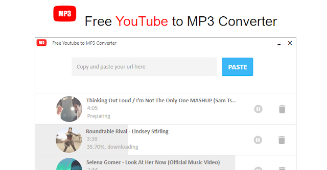 10. YouTube to Mp3 Converter