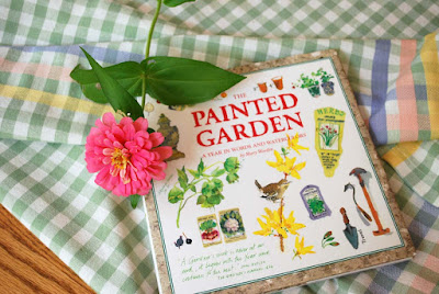 garden diary with water colors
