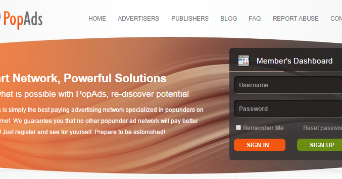 Make Money With PopAds Advertiser And Publisher ! | Make Money