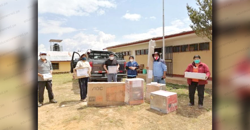 Institución Educativa N° 54069 de Quisapata Alta en Abancay recibió premio del FONDEP