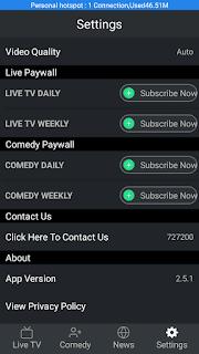 Goonj TV - screenshot 4