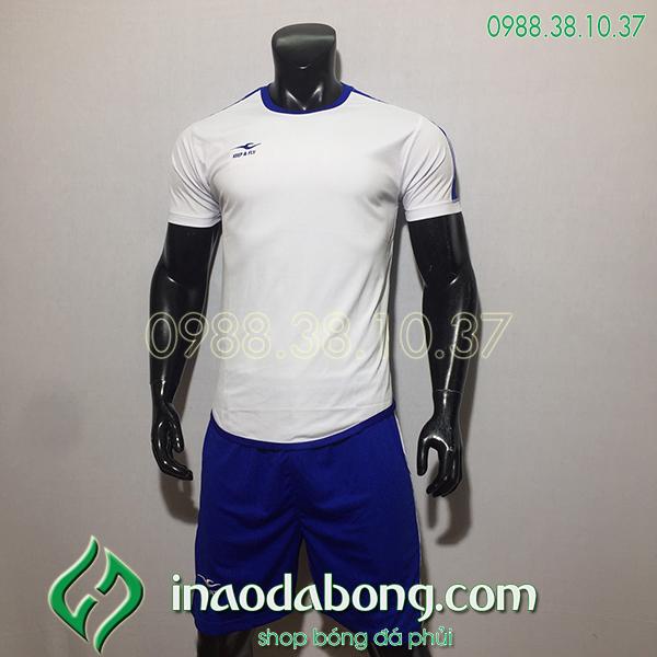 Áo bóng đá kp logo KeepFly Zuk màu trắng