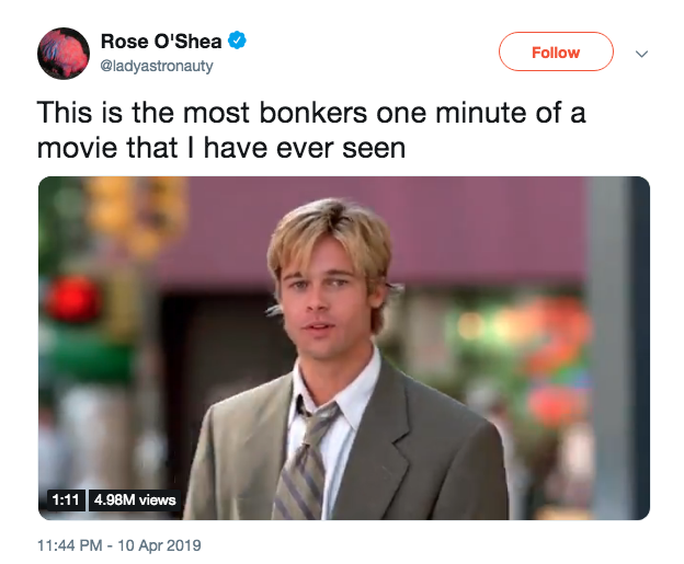 Joe black sex scene