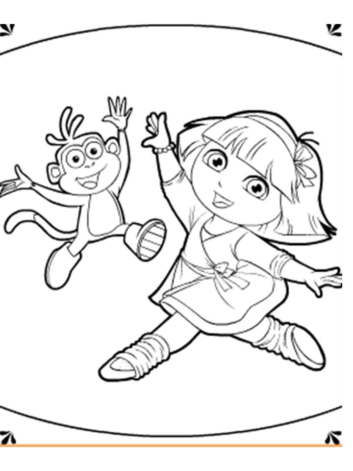 Arquivo De Desenhos Dora Bailarina