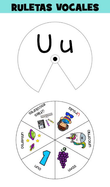 Ruletas-aprender-vocales-preescolar