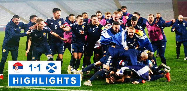 Serbia vs Scotland – Highlights