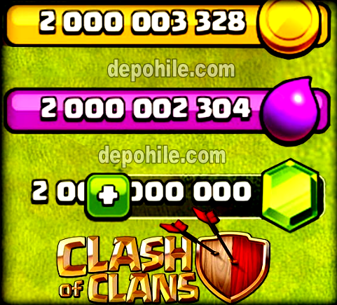 Clash of Clans v13.180.8 Mad Mod Kaynak Hileli Apk Nisan 2020