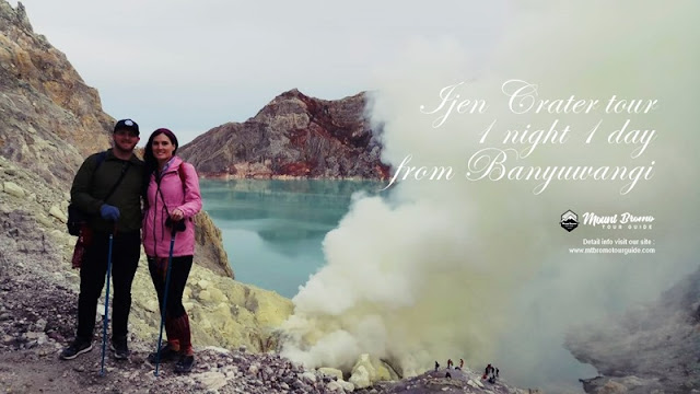 Ijen Crater tour - bromo tour guide