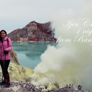 Ijen Crater tour 1 night 1 day from Banyuwangi