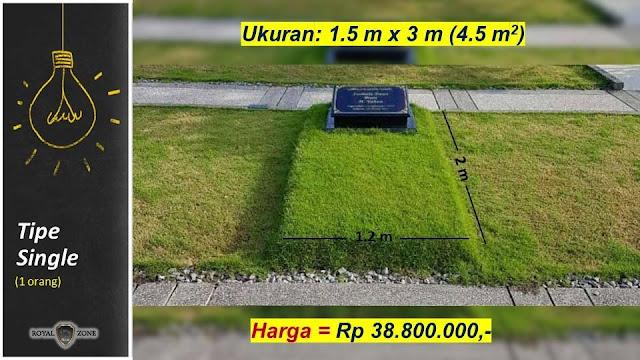 Wow Harga Kuburan ini sangat fantastis!