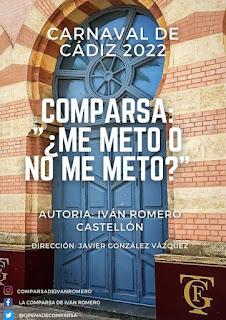 Ivan Romero Castellón anuncia el nombre de su Comparsa