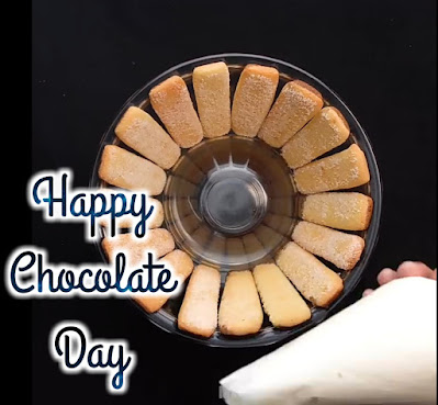 Wallpaper of the chocolate day