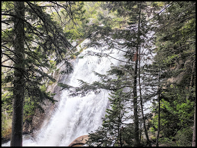 Upper Section of Bells Canyon Waterfall