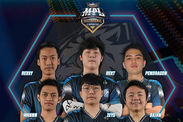 Jadwal Evos Legends di MPL Invitational