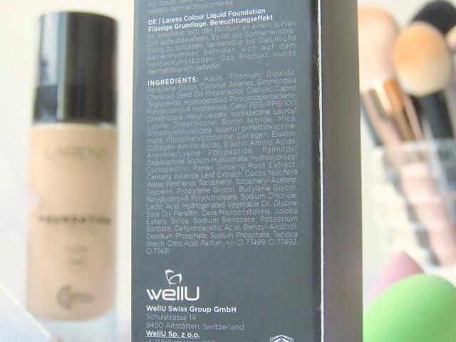 LARENS Colour make-up Glow odtien 01 Light recenzia