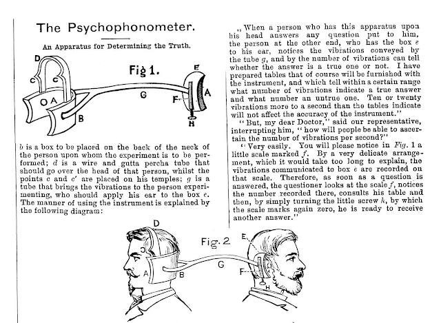 psychophonometer 1881 lie detector