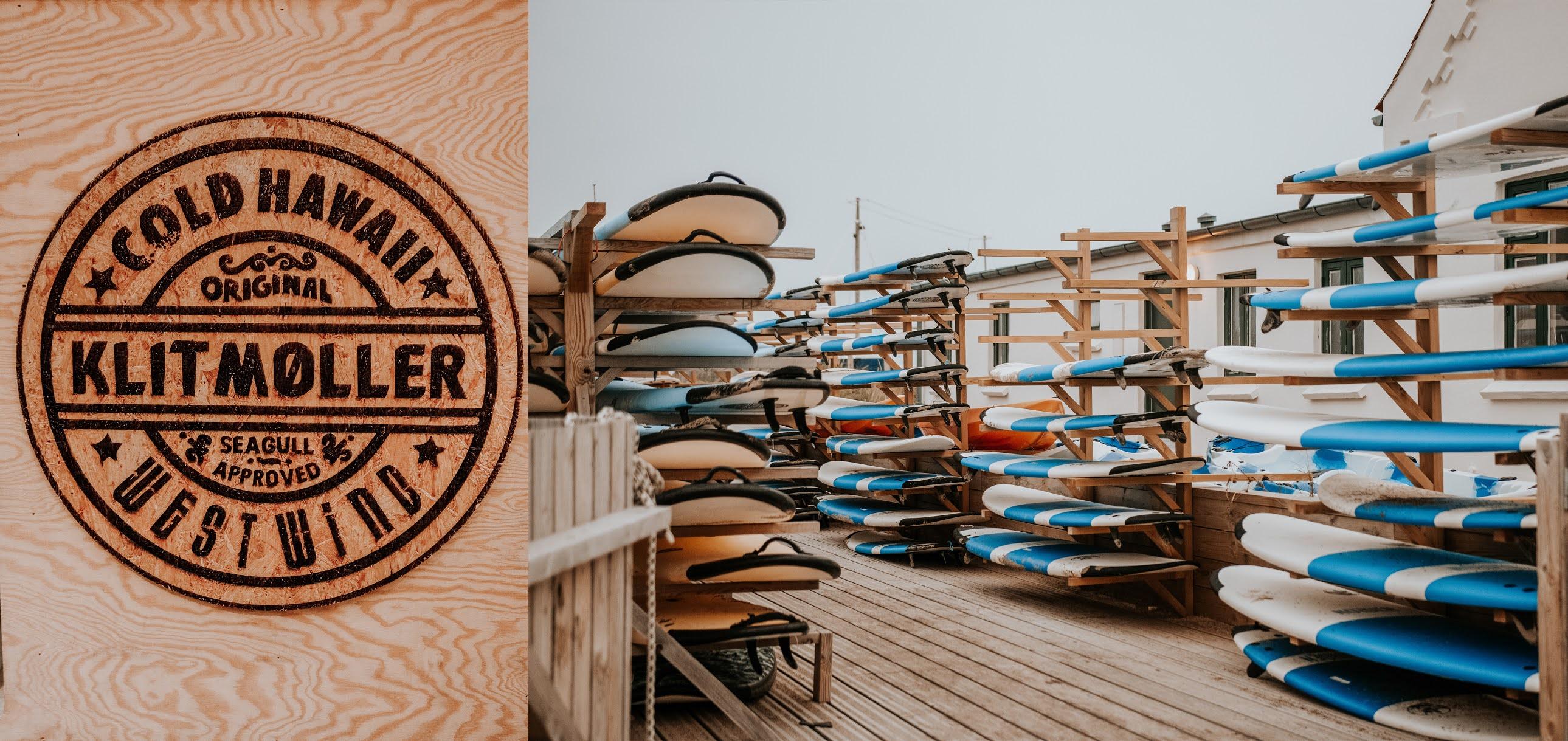 Surfing w Danii, atrakcje Danii