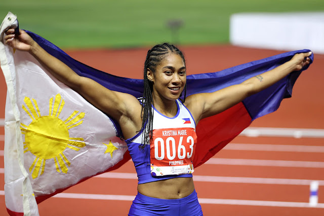 Kristina Knott Philippine Women 100 Meters