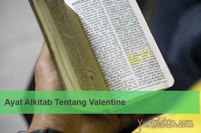 ayat alkitab tentang valentine
